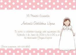 Resultado de imagen para invitaciones primera comunion niña