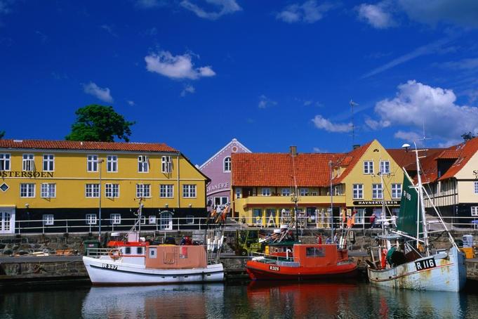 Svaneke havn, Bornholm