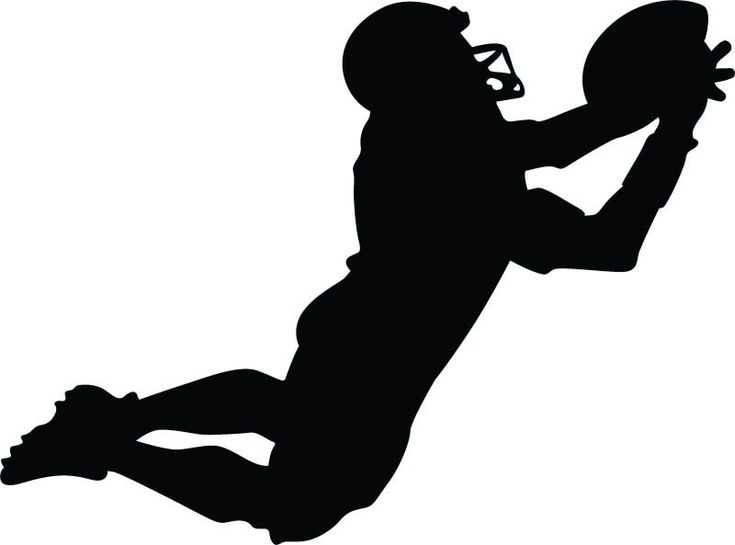 Football Player Silhouette Google Search Cut Files