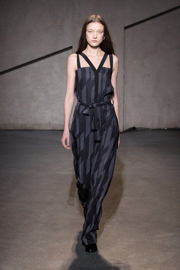 jumpsuit. Each x Other, Paris Fashion Week, Herbst/Winter 2015/16.