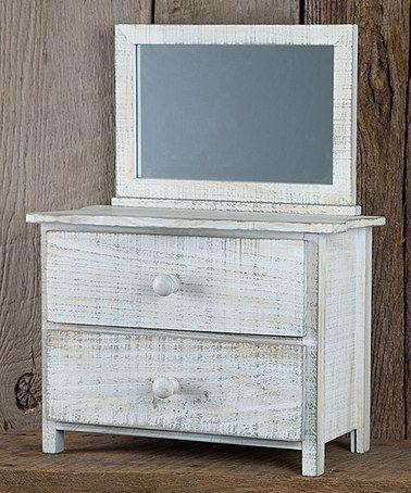 Look at this #zulilyfind! 'Little Things' Jewelry Dresser #zulilyfinds