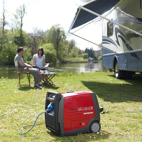 Honda EU30i 3000w Super-Silent Portable Generator (Inverter Technology) - Ideal for leisure uses like caravanning