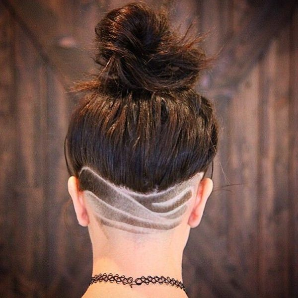 Image result for ladies shaved hair designs