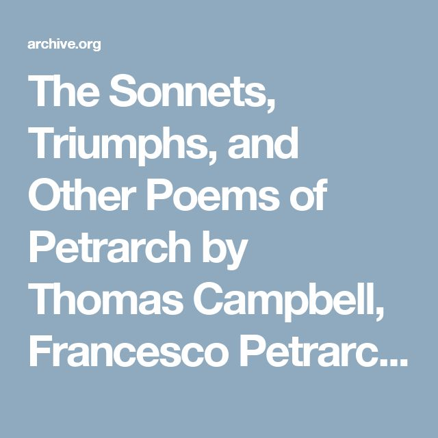 petrarch and poetry Group 7 sandefur elizabeth barrett browning how do i love thee let me count the ways sonnets from the portuguese 43 - duration: 1:11 honeyrainbowflower 3,492 views.