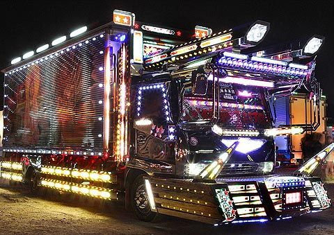 fr. Lost at E Minor: Dekotora - The uniquely Japanese art of dressing trucks up in bling