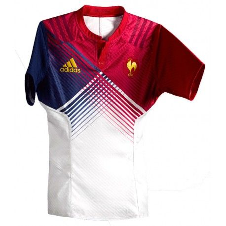 Maillot Rugby France Away 2016 Enfant / adidas