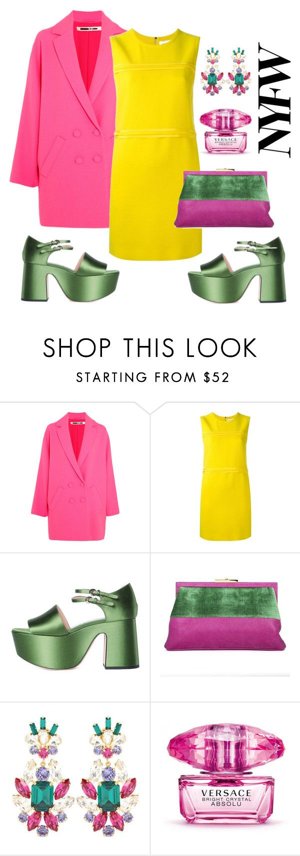 """""""Untitled #167"""" by sophier on Polyvore featuring McQ by Alexander McQueen, Victoria, Victoria Beckham, Rochas, Roberta Di Camerino, Dolce&Gabbana and Versace"""