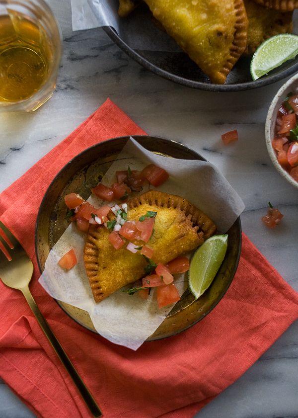 Colombian Empanadas / www.acozykitchen.com