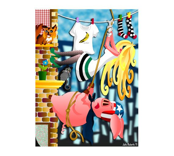 DOWNLOAD ISTANTANEO. Poster, Don't Climb Alone, colori, Arte da appendere, Decorazione muro, Idea regalo.