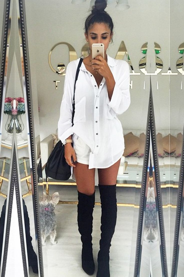 25 Best Ideas About Over Knee Boots On Pinterest Over