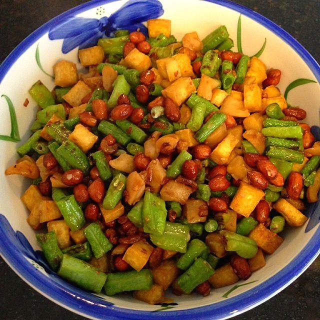 Stir Fry Four Treasures Recipe (Char Liap Liap, 炒粒粒) - coasterkitchen - Dayre
