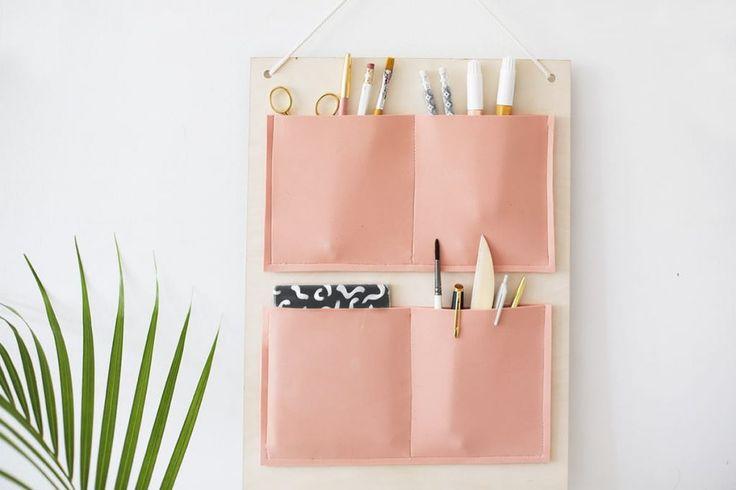 DIY bureau opberg inspiratie - MakeOver.nl