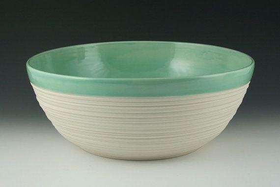 large groove serving bowlGreen Dreams, 72 00, Porcelain Servings, Mint Green, Kimwestad, Fruit Bowls, Large Groove, Servings Bowls, Groove Servings