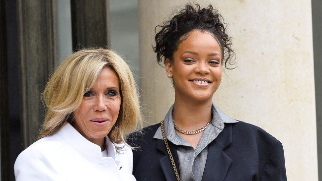 Rihanna Meets With French President Macron On Education,   http://www.thebingbing.com/play/4873187