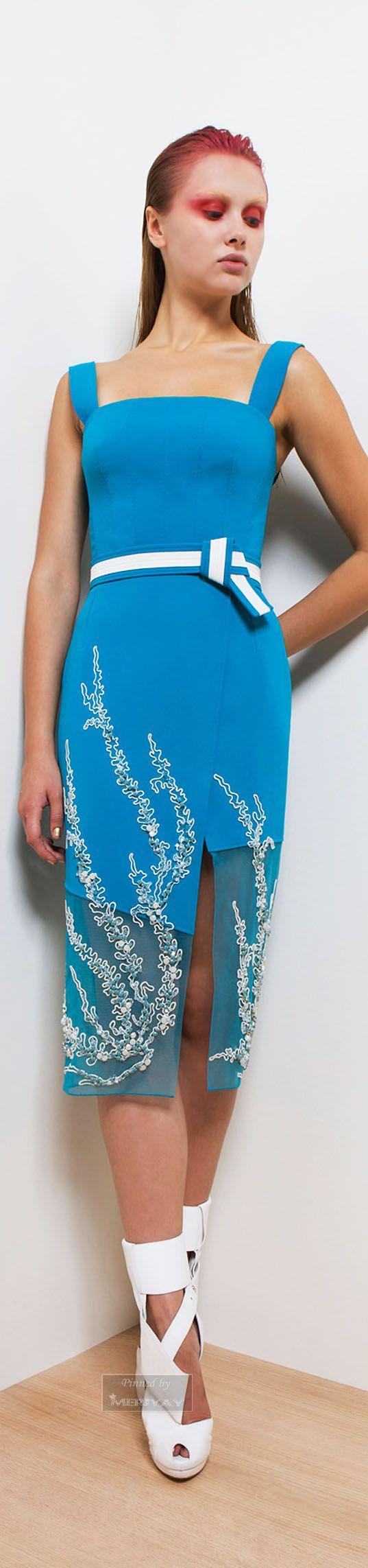 Basil Soda Spring-summer 2015. (elbise tasarımını çok beğendim, ayakkabıları beğenmedim, makyaj ise tam bir felaket!)