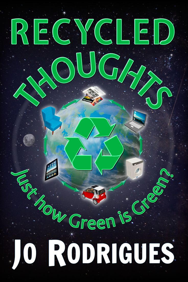 Just how Green is Green? Recycled Thoughts will change your views on current environmental challenges. We can no longer afford to ignore the obvious because it is inconvenient.  Logos, slogans, and Carbon Footprints are not Magic Filters that clean up our environment. These concepts are often abused for self-promotion and greed!  Together we can address these urgent issues! We have the power to transform our lives, but how, is entirely in our hands!  http://jorodrigues.com/recycled-thoughts/