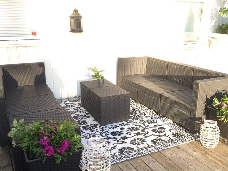 Veranda kvällssol lounge