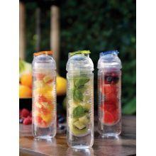 Loooqs, láhev s košíkem na ovoce, oranžová | PF Design CZ(XD Design)