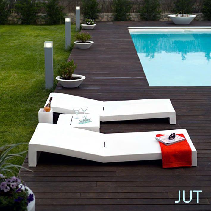 Les 25 meilleures id es de la cat gorie bain de soleil sur for Mobilier jardin transat