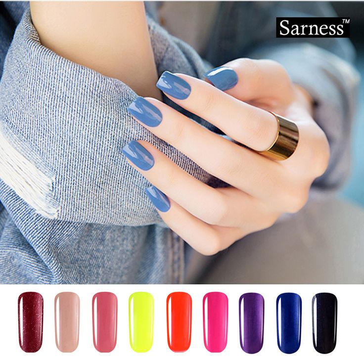 sarness Professional Bling Nail Gel lucky Colours Soak Off UV Nail Gel Polish esmaltes permanentes de uv cheap gel nail art