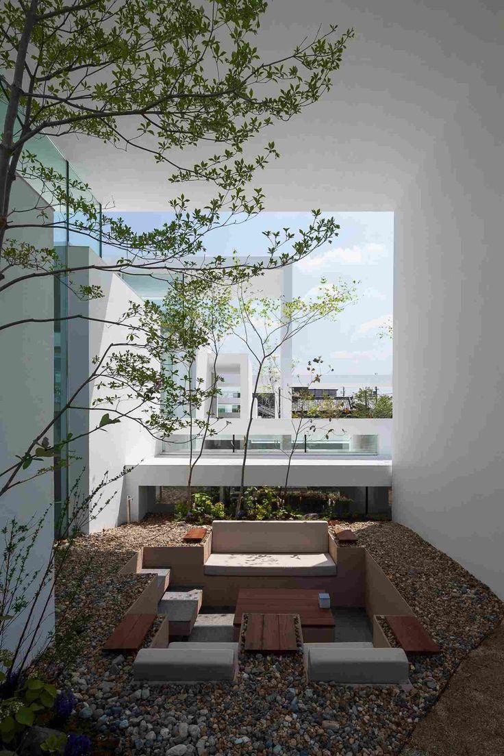 Открытые пространства дома в Японии