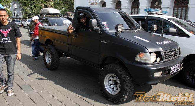 Gaya Modifikasi All Terrain Off Road (ALTO) Ala TKCI #BosMobil