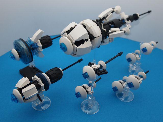 Trinity's Crux, Ijad battle fleet by LowestFormOfWit on Flickr