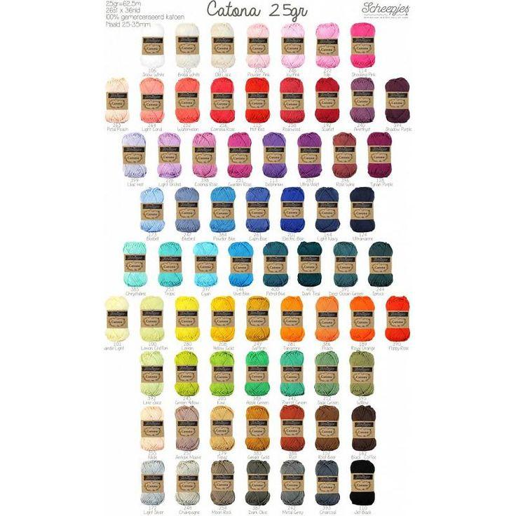 #scheepjes #catona #wol #garen #katoen #haakpakketten #haken #crochet #knitten…