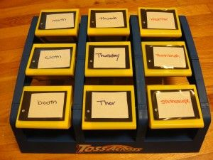 TTT toss with action pictures/words for PEGames With Deck Of Cards, Activities Tailored, Ears Reading, Learning Games, Articulation Activities, Speech Articulation Games, Games Ideas, Early Reading, Phonemic Awareness Games