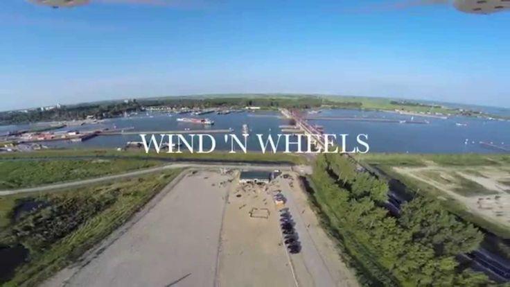 Landzeilen / blowkarten @Wind 'n Wheels / Amsterdam / IJburg