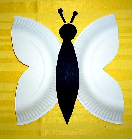 Schmetterlinge aus Transparentpapier fürs Fenster - Tiere Basteln - Meine Enkel…