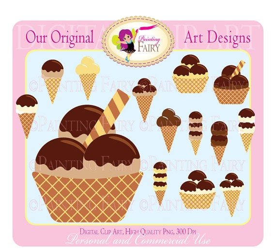 clip art ice cream party - photo #48