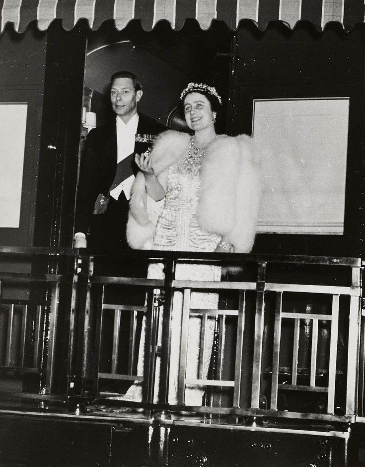 King George VI and Queen Elizabeth, Canada, 1939 | Royal Collection Trust