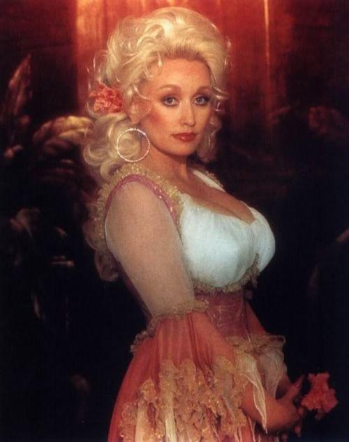 """I don't mind looking cheap...I don't."" --Dolly Parton"