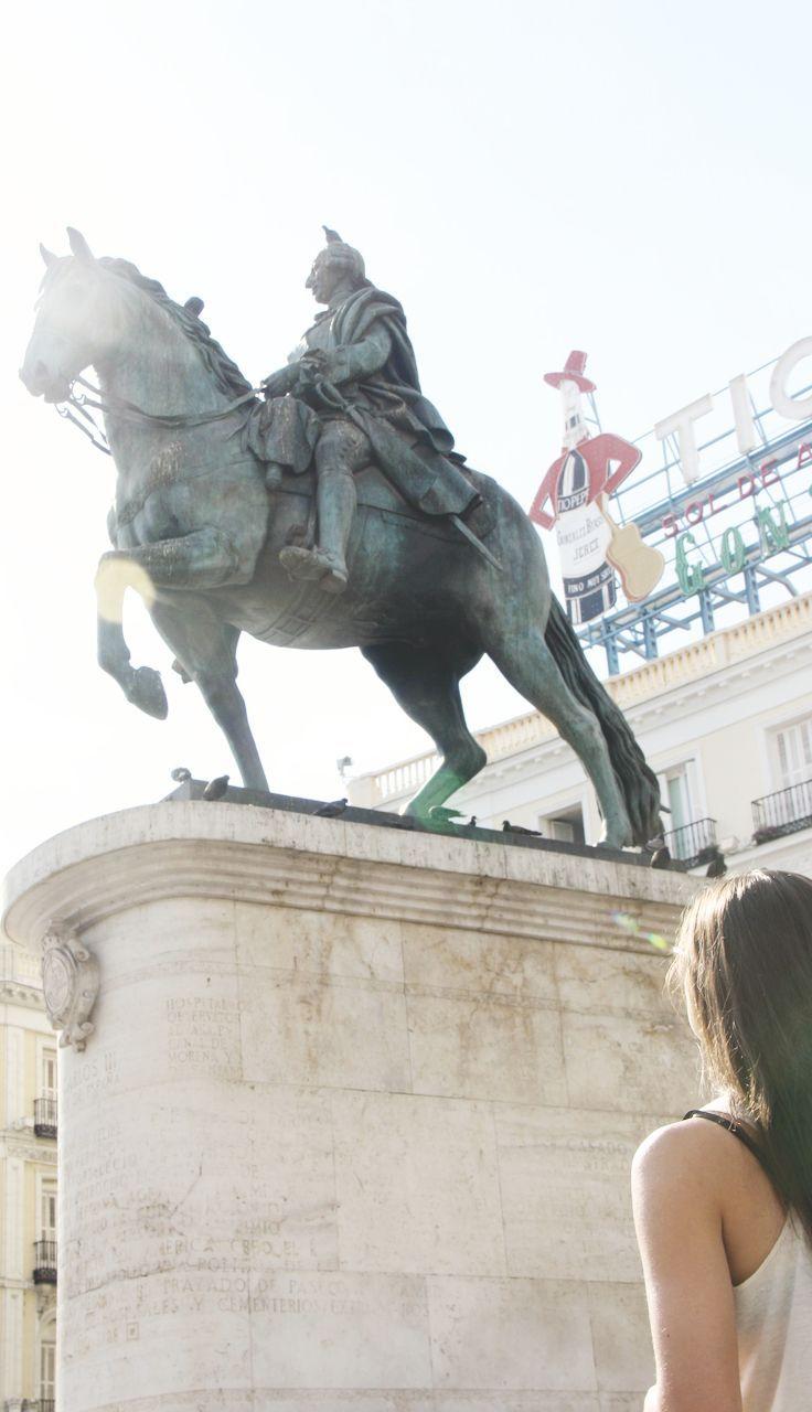 Plaza de Sol in Madrid