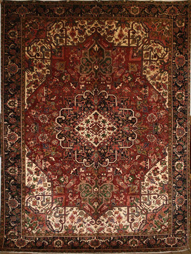 Handmade Heriz Rug (Ref: 696) by Little-Persia