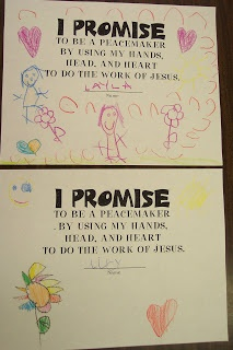 kinderdi: classroom ideas I think it is good to have the child write out what they promise to do for the year because teachers can refer back to it throughout the year and it can have a big impact on the students to encourage them.