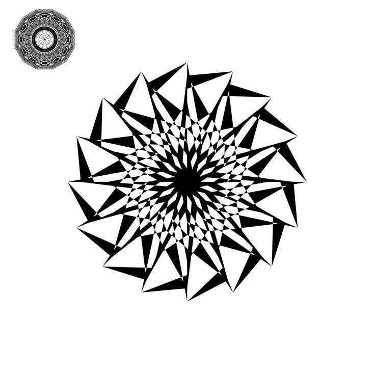 Mandala Monogram Svg Files Mandala, Monogram, Wedding