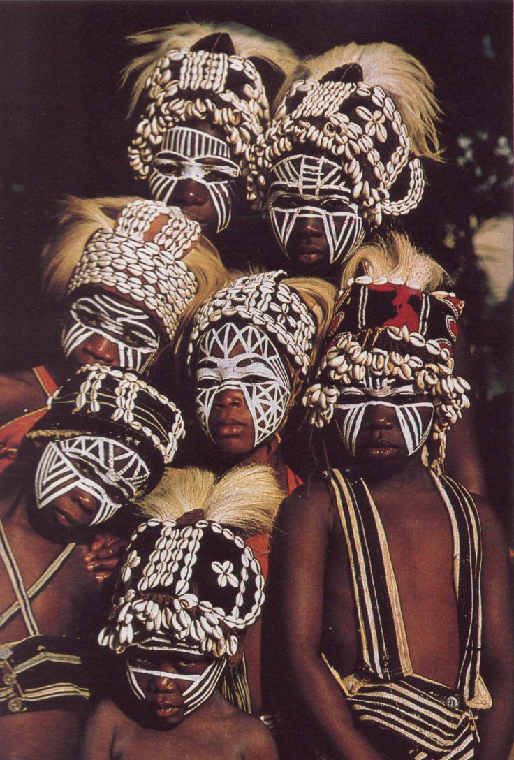 an Tribe Ivory Coast National Geographic July 1982   Michael and Aubine Kirtley