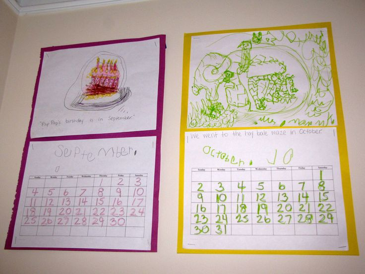 Calendar Self Made : Ideas about kindergarten calendar activities on