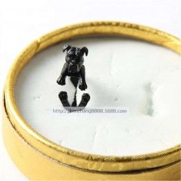 America Pit Bull Terrier Dog Ring Free Size For Pet Lovers