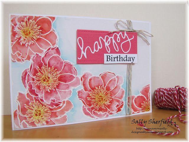 Cinnamon Sally Designs: Happy Birthday!!
