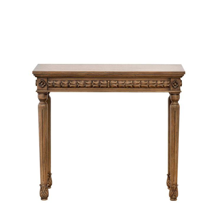 Blossom Console Table Консоль (91х35х81h)             Материал: Дерево.              Бренд: Gramercy Home.              Стили: Классика и неоклассика.              Цвета: Коричневый.