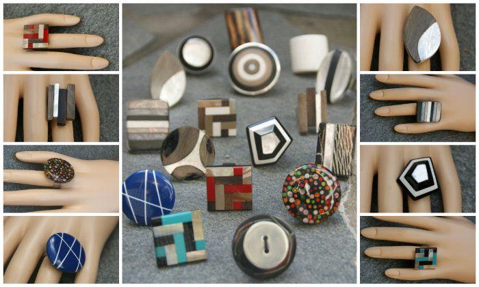 Mode ringen ! Altijd leuk om te geven als cadeau of zelf te dragen ;) - Statementpieces.nl #ring #ringen #webshop #sieraden #cadeautip