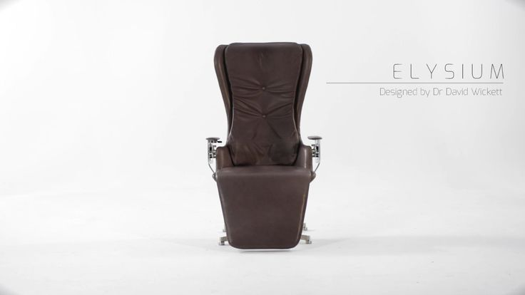 The Elysium chair holds you in a position between lying and sitting up so your weight is evenly distributed  They claim this is the most comfortable position which puts the least strain on your back. And sells for $26,000 dollars!   https://youtu.be/F5p7gJRy_dI   #threethings #TheMorningShow #887thebridge #netDE