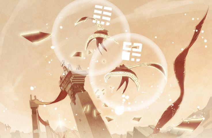 /Traveler/#1396119 - Zerochan | Journey | Thatgamecompany
