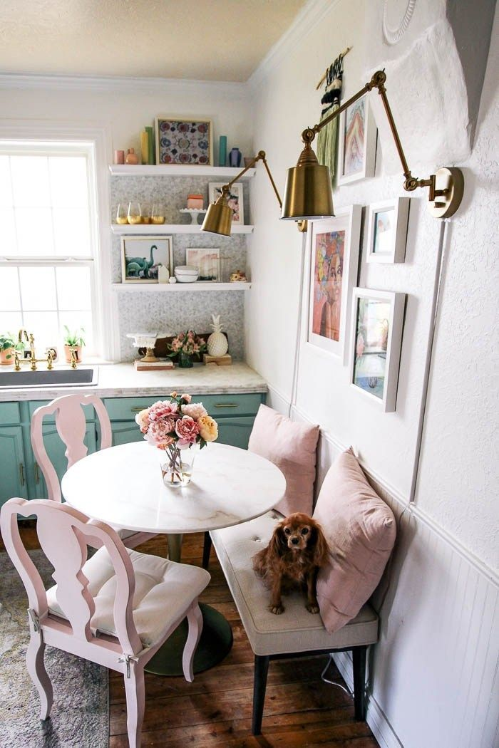 Small Kitchen Decor Ideas Are You Looking For A Cute Little Table For A Tiny Space Maybe A Breakfa Small Dining Room Table Dining Room Small Apartment Dining