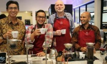 Dubes Australia Ini Ternyata Pecinta Kopi Indonesia - Kedaulatan Rakyat