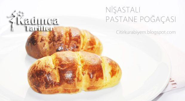 Nişastalı Pastane Poğaçası Tarifi