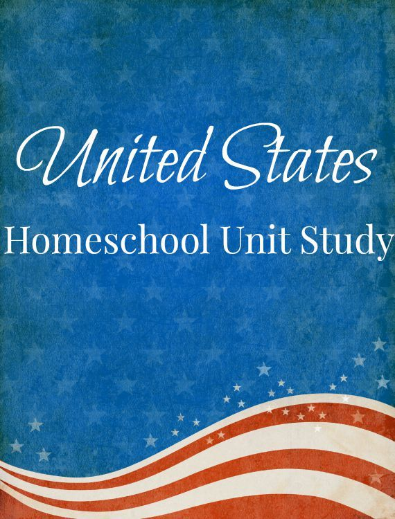 Studying the United States soon in your homeschool? This United States homeschool unit study is perfect for 4th grade and below and tons of fun!
